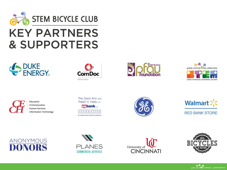 STEM Bicycle Club Partners