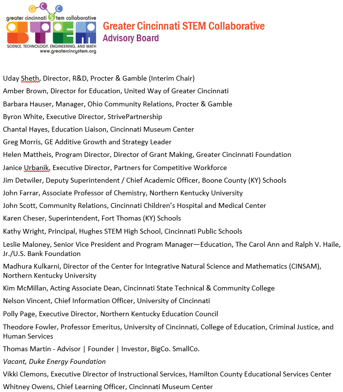 Advisory Board Feb 2018
